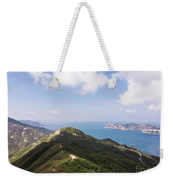 Hong Kong Dragon Back Weekender Tote Bag