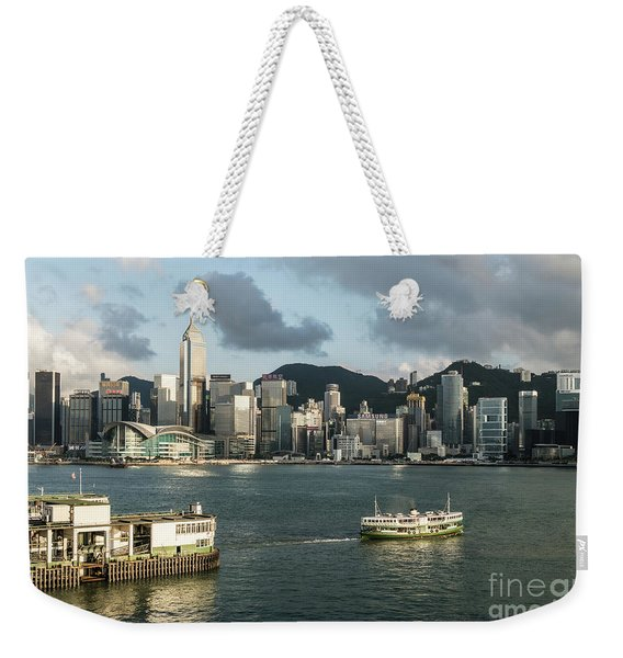 Hong Kong Star Weekender Tote Bag