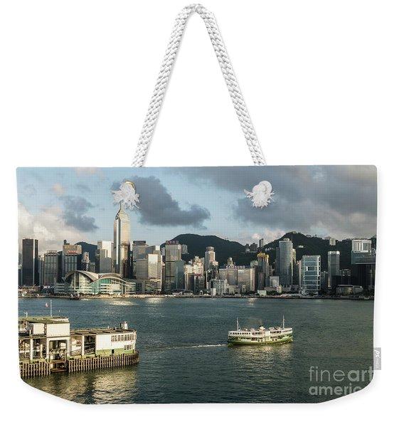 Hong Kong Star Weekender Tote Bag