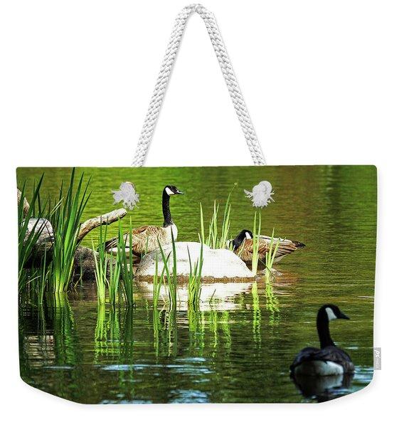 Honkin' Harmony Weekender Tote Bag