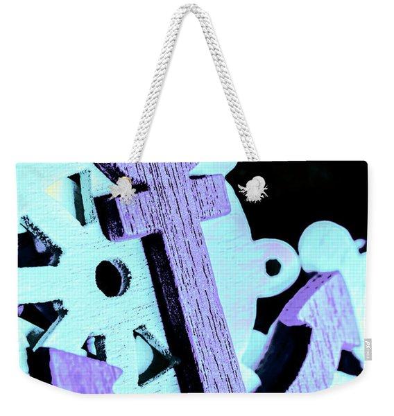 Hooked On Sea Travel Weekender Tote Bag
