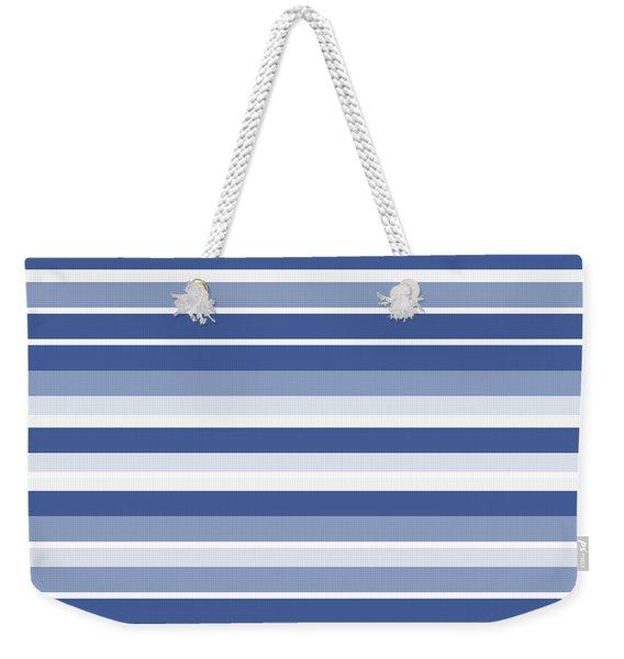 Horizontal Lines Background - Dde607 Weekender Tote Bag