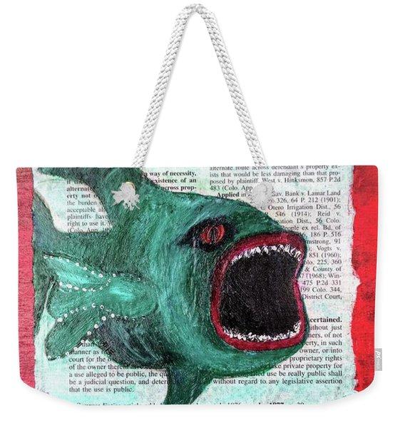 Horror  Weekender Tote Bag