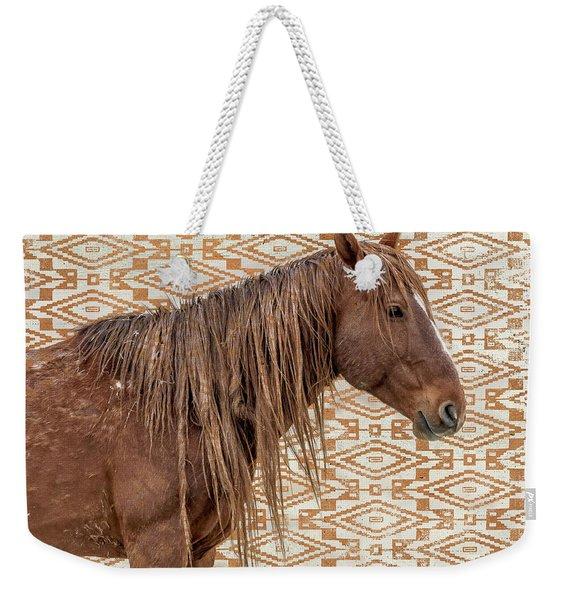 Horse Blanket Weekender Tote Bag