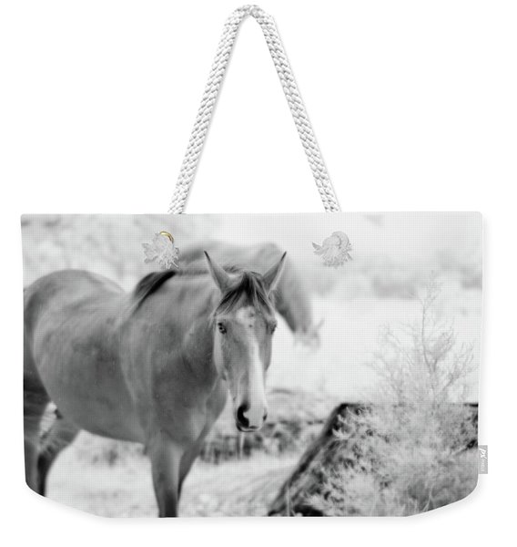 Horse In Infrared Weekender Tote Bag
