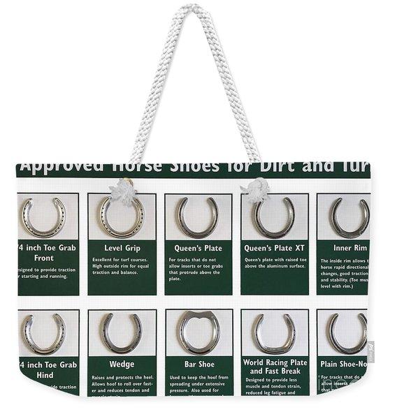 Horseshoes Weekender Tote Bag