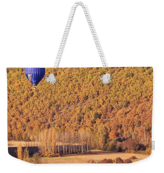 Hot Air Balloon, Beynac, France Weekender Tote Bag