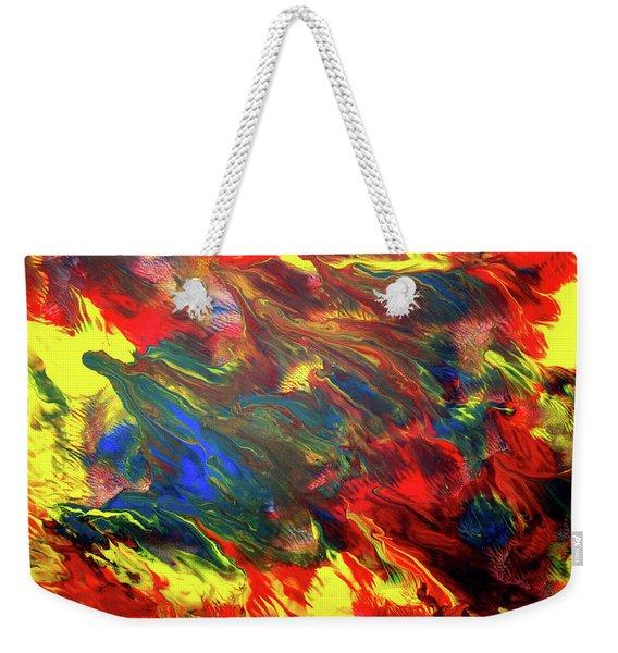Hot Colors Coolling Weekender Tote Bag