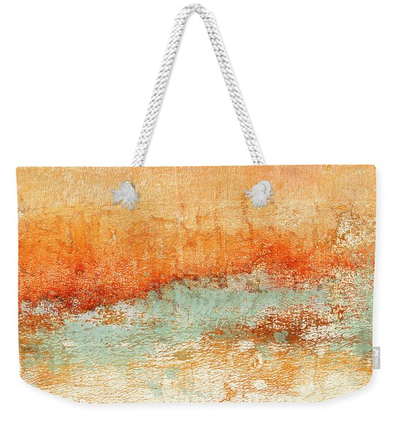 Hot Days Cool Waters Square Format Weekender Tote Bag