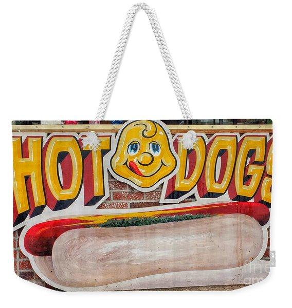 Hot Dogs Weekender Tote Bag