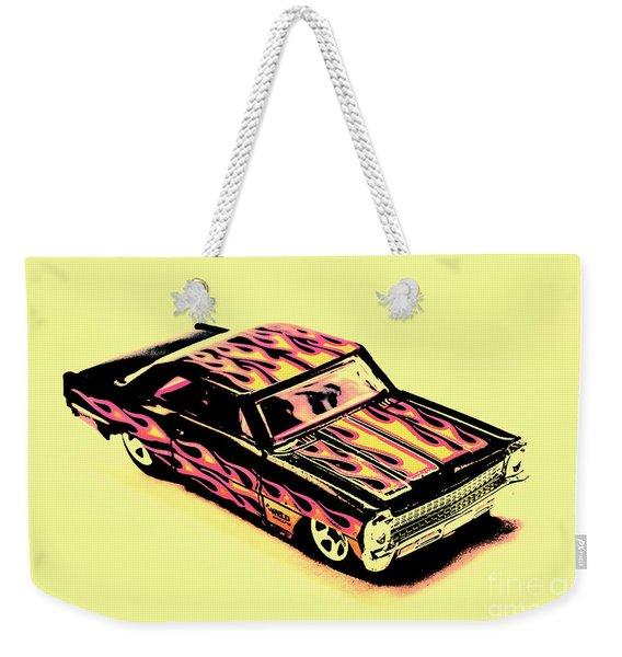 Hot Wheels Weekender Tote Bag