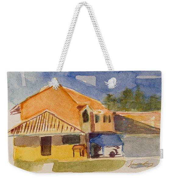 House Across The Way Weekender Tote Bag