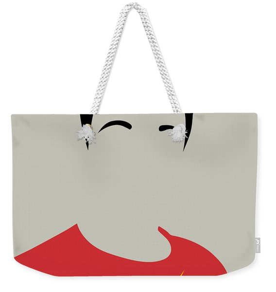 Sheldon Portrait Weekender Tote Bag