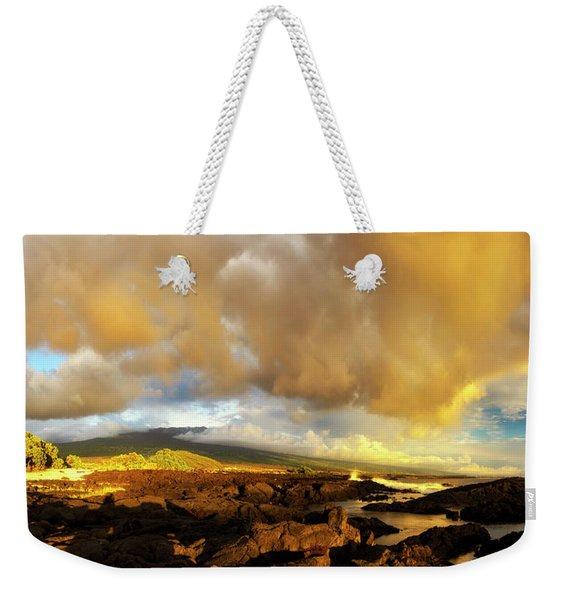 Hualalai Sunset Weekender Tote Bag