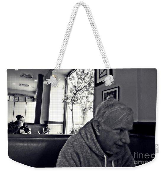 Hudson View Diner 2   Weekender Tote Bag
