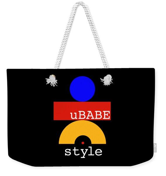 Hug Me Style Weekender Tote Bag