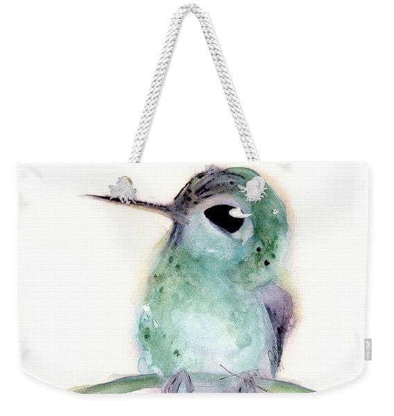 Hummingbird Series 2019 #4 Weekender Tote Bag