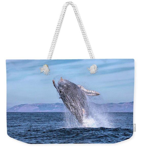 Humpback Breaching - 02 Weekender Tote Bag