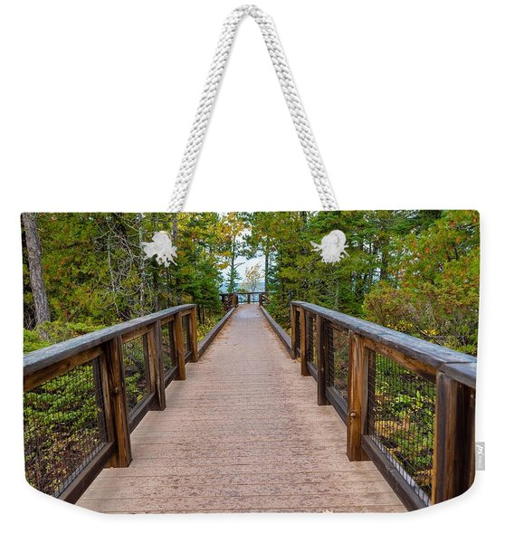 Hunter's Point At Copper Harbor Weekender Tote Bag
