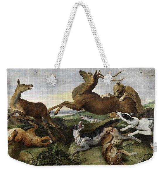 Hunting Weekender Tote Bag