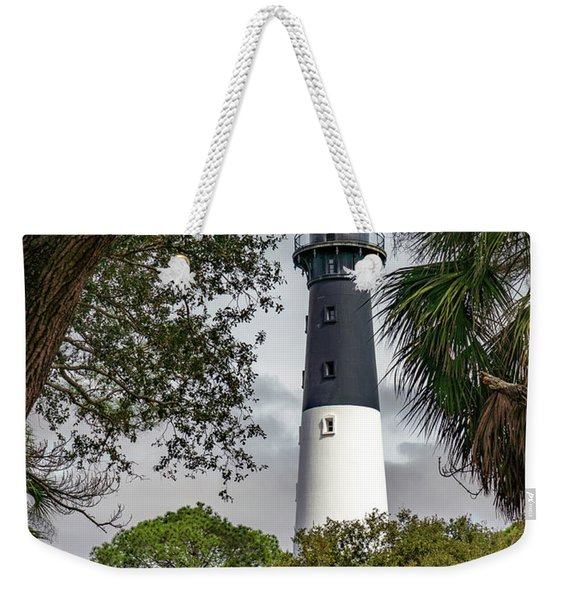 Hunting Light 1 Weekender Tote Bag