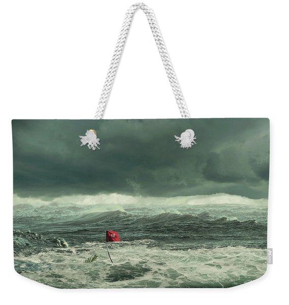 Hurricane Florence 2018 Weekender Tote Bag