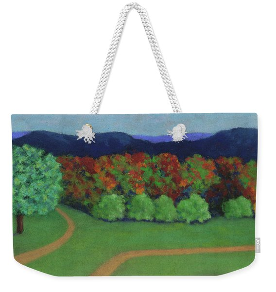 Hutchins Farm In Fall Weekender Tote Bag