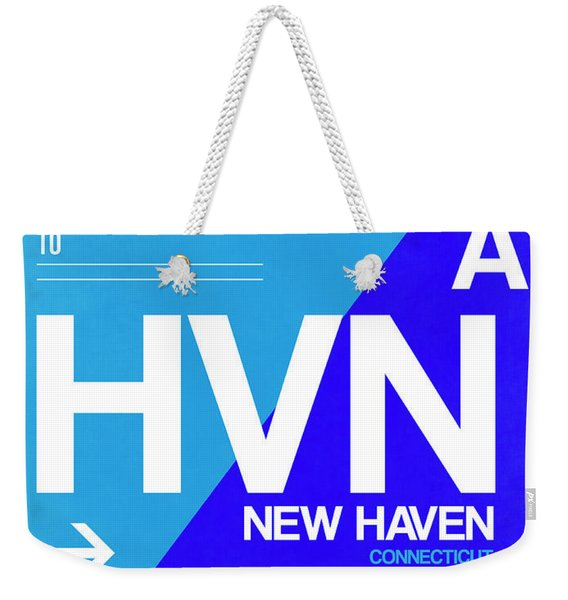 Hvn New Haven Luggage Tag II Weekender Tote Bag
