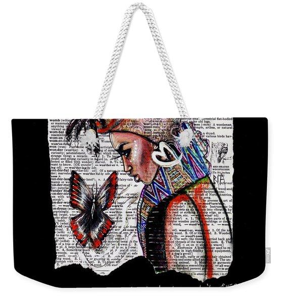 I Am A Woman Weekender Tote Bag