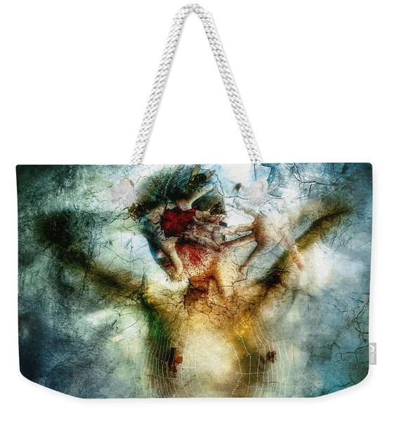 I Break Weekender Tote Bag