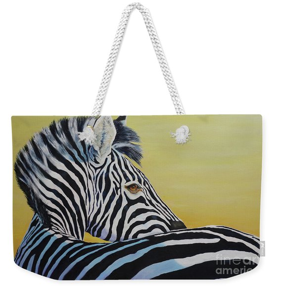 I Caught You Looking At Me Weekender Tote Bag