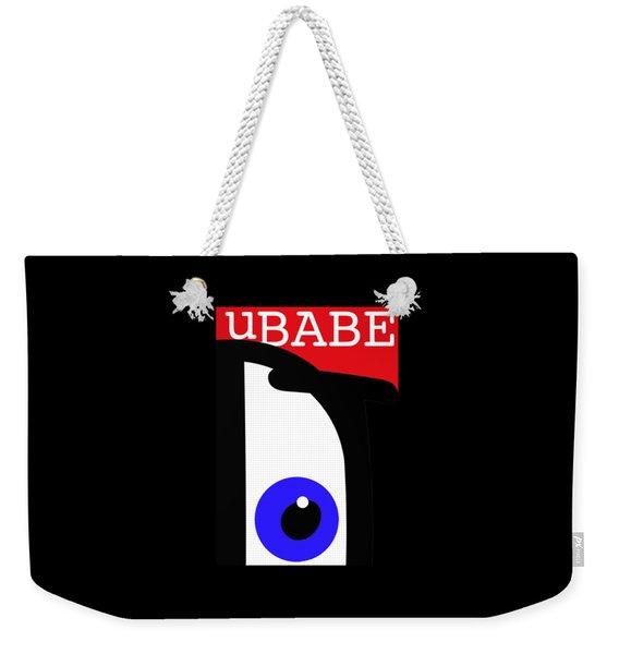 I See Ubabe Weekender Tote Bag