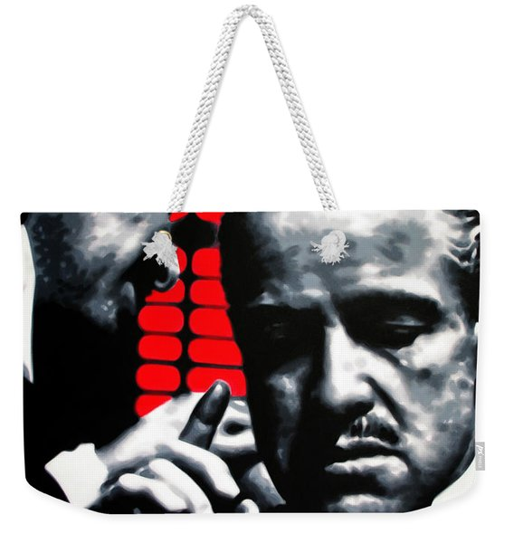 I Want You To Kill Him Weekender Tote Bag