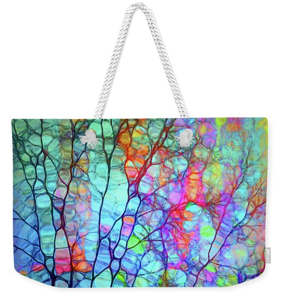 I Will Colour My Way Into Your Heart Weekender Tote Bag
