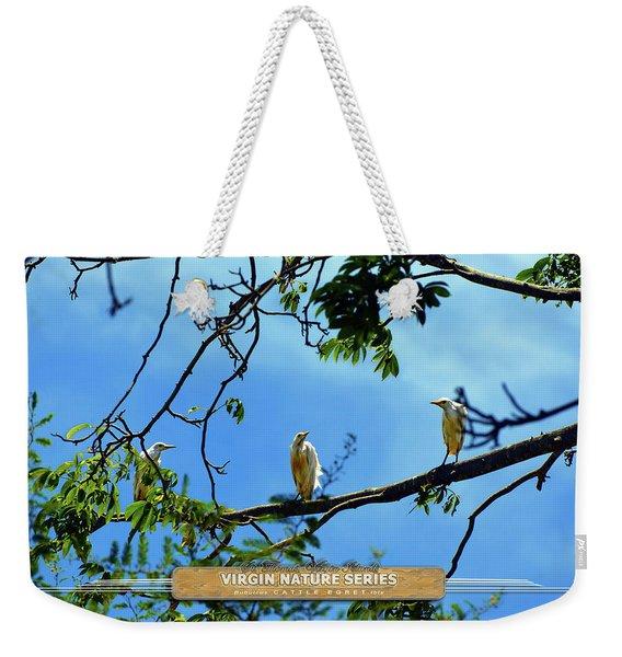 Ibis Perch - Virgin Nature Series Weekender Tote Bag