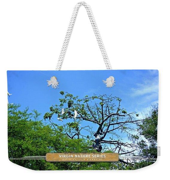 Ibis Risen - Virgin Nature Series Weekender Tote Bag