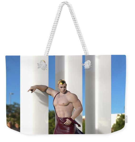 Ibiza Fashion Weekender Tote Bag