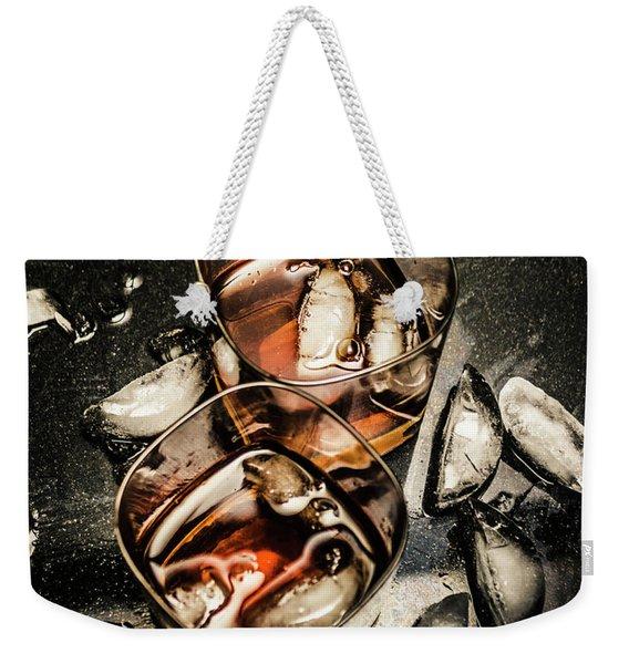 Ice Breaker Weekender Tote Bag