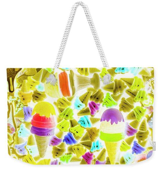 Ice-dream Weekender Tote Bag