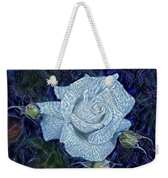 Ice Rose Weekender Tote Bag