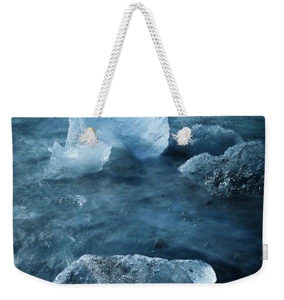 Ice Shells Weekender Tote Bag
