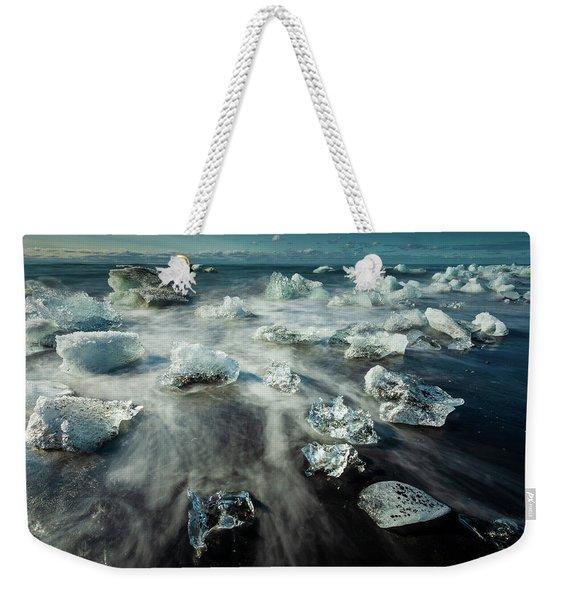 Iceberg Beach Weekender Tote Bag