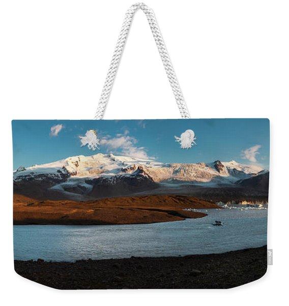 Iceland Panorama Weekender Tote Bag