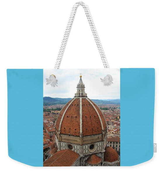 Il Duomo Cathedral Florence Weekender Tote Bag