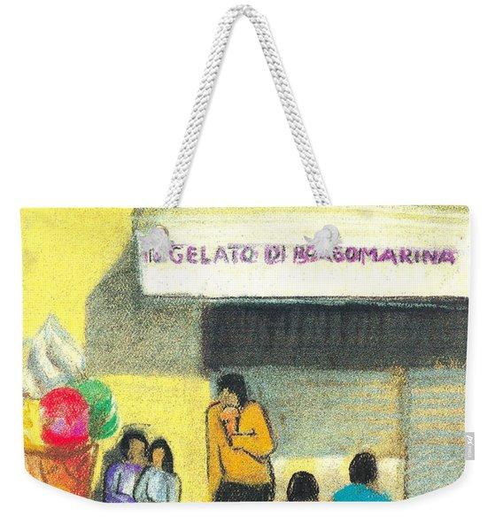 Il Gelato De Borgo Marina Weekender Tote Bag