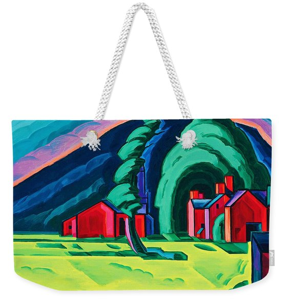 Illusion Of A Prairie, New Jersey - Digital Remastered Edition Weekender Tote Bag