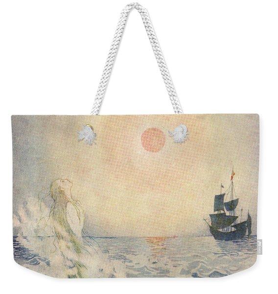 The Little Mermaid, Illustration From  Weekender Tote Bag