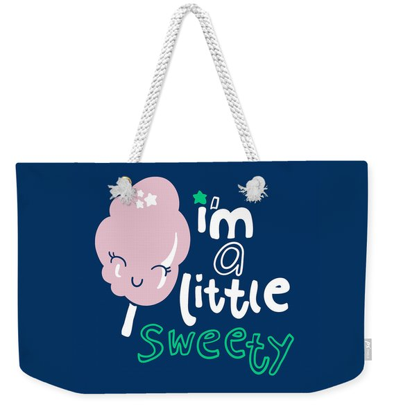 I'm A Little Sweety - Baby Room Nursery Art Poster Print Weekender Tote Bag