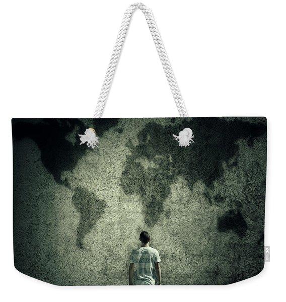 Imaginary Escape Weekender Tote Bag