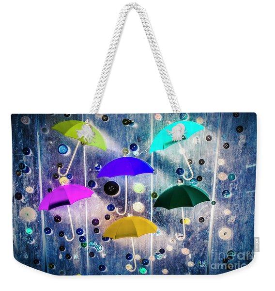 Imagination Raining Wild Weekender Tote Bag